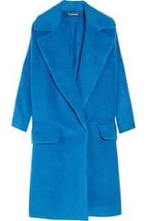 Bernice cocoon wool-blend coat