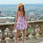 My Outfit – Summer Dress with Hat