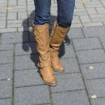 My First Street Fashion in Germany – Riding Boots