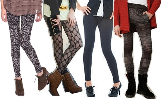 How to Wear Tights Leggings