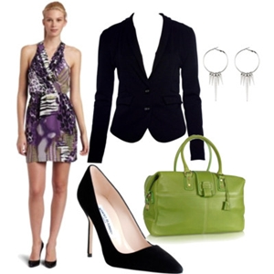 animal print to work outfit 5