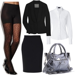 animal print to work outfit 6
