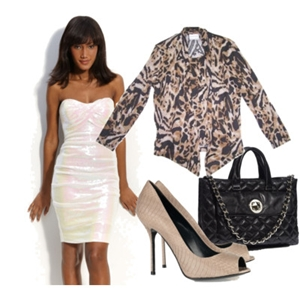 animal print to work outfit 7
