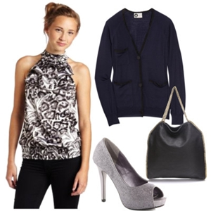animal print to work outfit 8