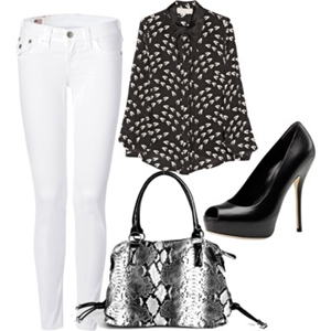 animal print to work outfit 9