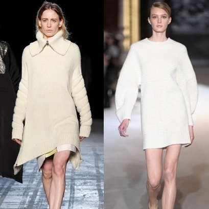 Creative Fashion Spy: Trend Knitted Sweater Dresses