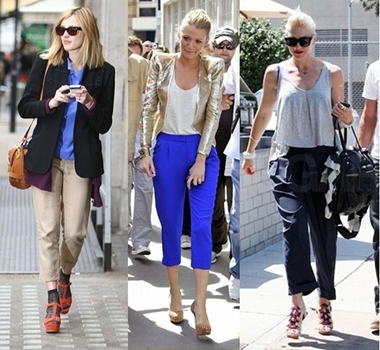 How to Wear Cropped Pants/Capris for Women 3 Celebrity Inspired