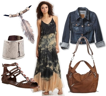 bohemian look outfit 3