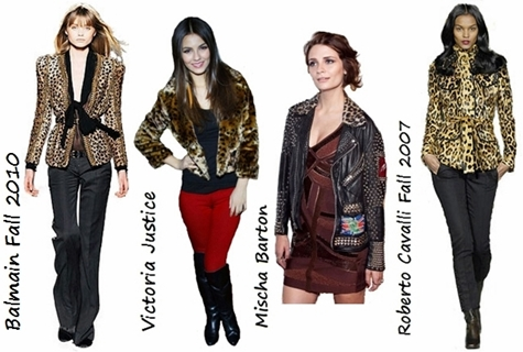 How to Wear Animal Print Jacket