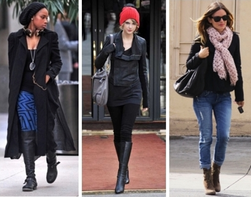 Styling Casual Wear - 3 Celebrity Winter Casual Outfits