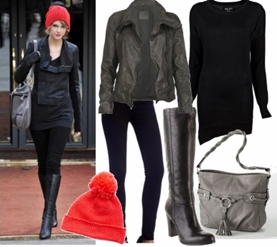 Styling Casual Wear - Celebrity Winter Casual Outfit1