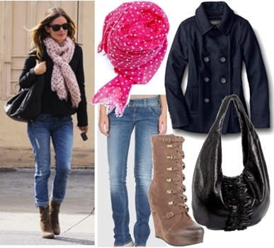Styling Casual Wear - Celebrity Winter Casual Outfit2