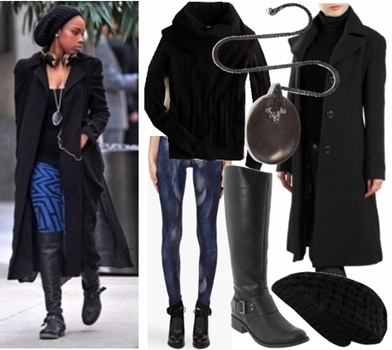 Styling Casual Wear - Celebrity Winter Casual Outfit3