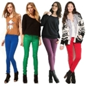 7 New Ways to Wear Colored Jeans