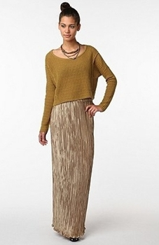 Tips on Wearing Maxi Skirt