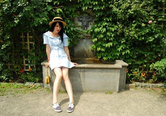 creative fashionista2 vintage straw hat
