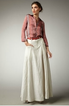 how to look great in maxi skirt