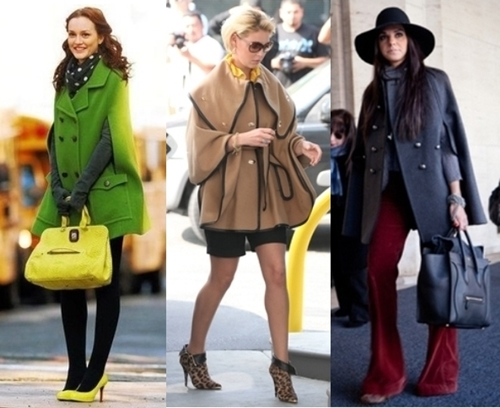 Haute Ways Celebrities Wear Cape Coats