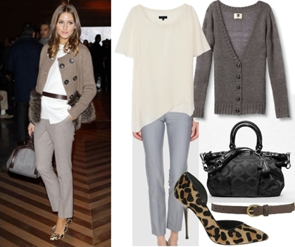 How Olivia Palermo Wears Leopard Print Shoes