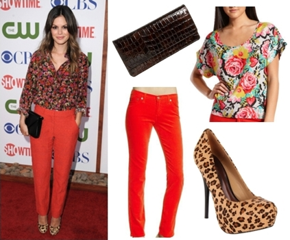 How Rachel Bilson Wears Leopard Print Shoes
