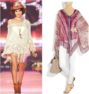 How to Wear Poncho in Summer