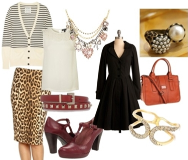 Retro Leopard Work Outfit
