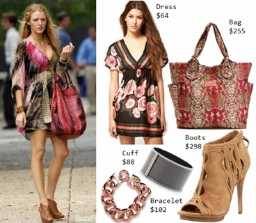 Wear Printed Dress Boho Style