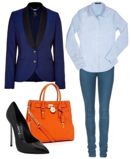 What Colorof Shirt and Pants for Royal Blue Blazer