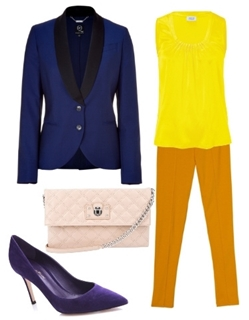 What Colors to Wear with Royal Blue Blazer