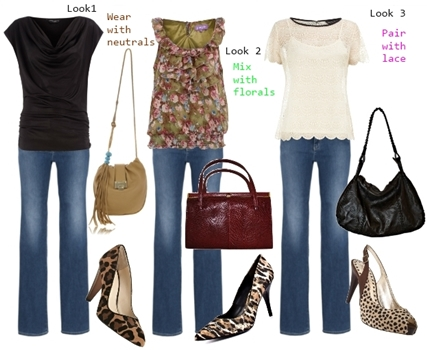 What Dressy Tops to Wear with Cheetah Print Pumps