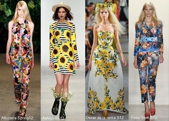 trend guide bold floral print