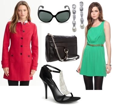 How to Wear Coat - Elegant