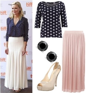 How to Wear Maxi Skirt to Work