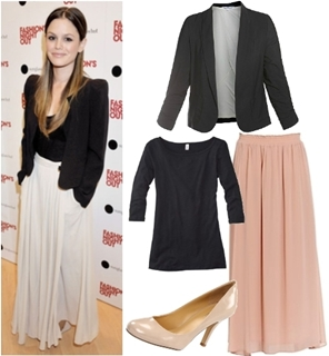 How to Wear Maxi Skirts to Work