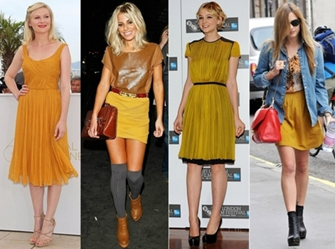 How to Wear Mustard Color
