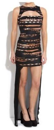 Sheer Tail Dress