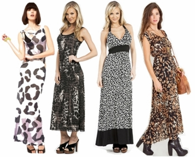 Leopard Print Maxi Dress on The Stylist     What Accessories To Wear With Leopard Print Maxi Dress