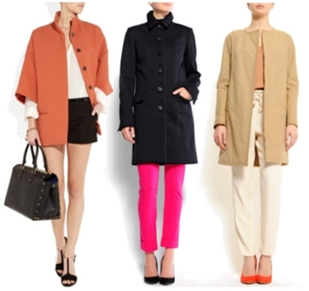 coats - fashion tip for petite women