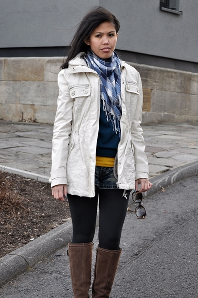 how to layer up and wear riding boots for spring
