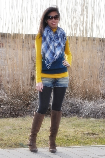spring colors and riding boots