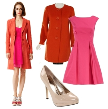 Women Outfit for Work - Colorblock