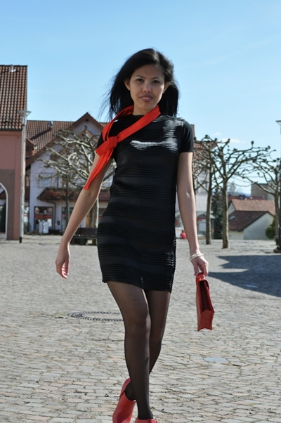 my Outfit – Black Tunic Dress