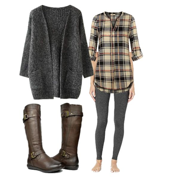 how to wear riding boots in april