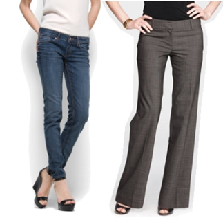 pants for apple shape