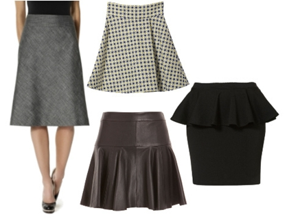 skirts for apple shape