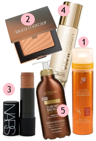 Best Bronzers and Self-Tanners