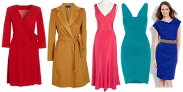Dresses and Coats for Hourglass Body Type