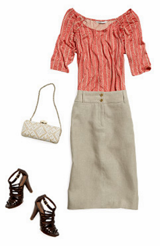 accenting a summer outfit