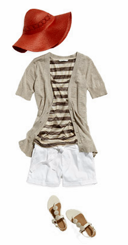 how to wear shorts for summer