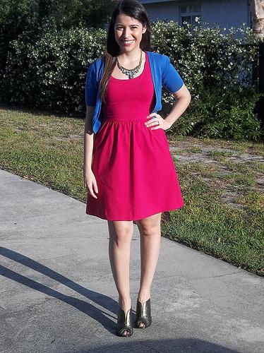 Bold Pink Dress